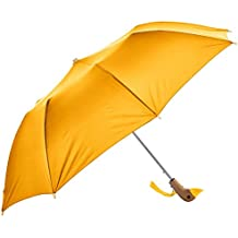 Century Star Cute Auto Open Close Travel Waterproof Windproof Foldable Umbrella Yellow One Size