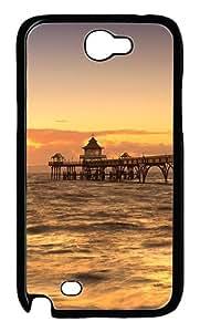Marina Custom Samsung Galaxy Note II N7100 Case Cover ¨C Polycarbonate ¨CBlack