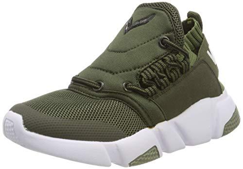 Outdoor Verde Da Su Athletic Slip Casuali Corsa Sneaker Ragazzi Scarpe Ragazze vwqU7vnE