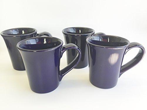 Large 14 oz Ceramic Coffee Mugs Tea Set of 4 Hot Beverage Dr