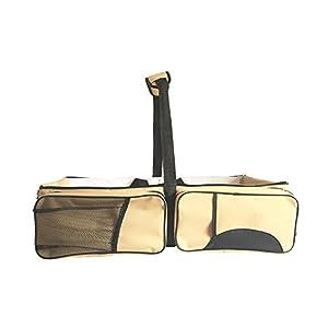 LU2000 Multi-functional Outdoor Infant Carry Bed Folding Travel Handbag Mom Baby Portable Crib Baby Diaper Cradle Bag (Khaki)