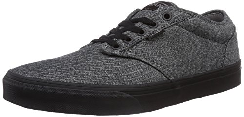 VansM ATWOOD - Zapatillas hombre Black (Textile Black/Cordovan)
