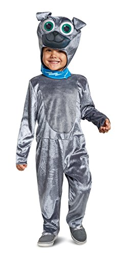 Disguise Bingo Classic Toddler Child Costume, Gray, Size/(2T)