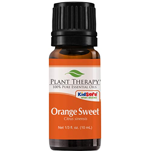 Plant Therapy Sweet Orange Essential Oil. 100% Pure, Undiluted, Therapeutic Grade. 10 ml (1/3 ()