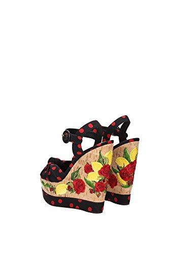 Dolce & Gabbana Dames Sandales Bianca C18934 Af344 8u938 Multicolore