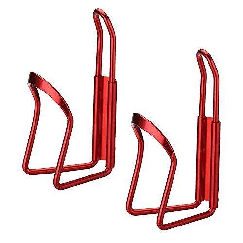 Spacing Aluminum Fence - Fans Bicycle aluminum alloy pot holder mountain road car kettle frame folding car pot holder(2 Pack)
