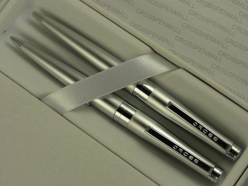 Cross Executive Style Cardinal Satin pen and pencil set