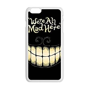 HDSAO We Are All Mad Here Hot Seller Stylish Hard Case For Iphone 6 Plus