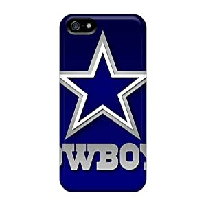 Ultra Slim Fit Hard Sandrajh Case Cover Specially Made For Iphone 5/5s- Dallas Cowboys