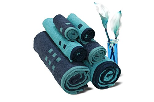 Spaces Atrium 6 Piece 450 GSM Cotton Towel Set
