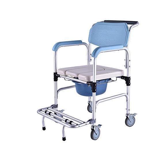 希少 黒入荷! DHGK B07P7ZBK1X 入浴用車椅子 可動式便器 組立式 介助ブレ-キ付き シャワーキャリー 折り畳み式 シャワー用車いす アルミニウム合金製 入浴用車椅子 福祉用具 高齢者用 老人用 在宅介護 組立式 背折れ式 B07P7ZBK1X, NetBabyWorld(ネットベビー):98712b6e --- a0267596.xsph.ru