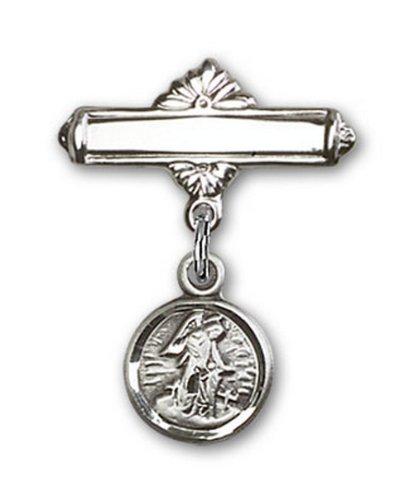 Icecarats Créatrice De Bijoux En Argent Sterling Tuteur Charme D'Ange Pin Badge 7/8 X 5/8