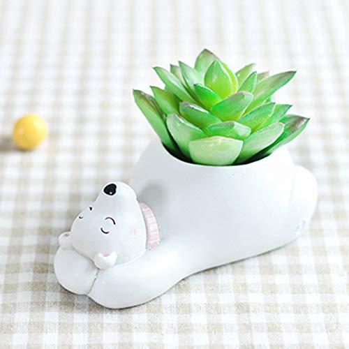 polar bear resin charm - 4