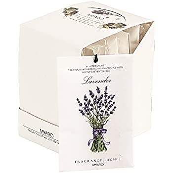 MYARO MR 01 12 Packs Lavender Scented Sachets For Drawer And Closet Best  Gift