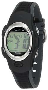 Armitron Sport Unisex 456967BLK Chronograph Black Digital Watch