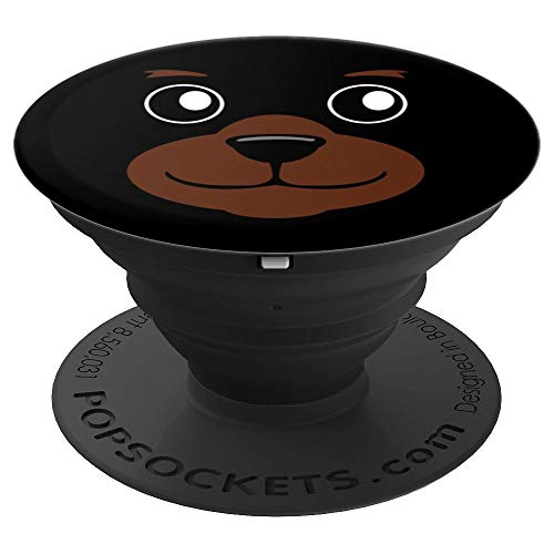 Bear Face Halloween Costume Artwork Gift - PopSockets Grip and Stand for Phones and Tablets]()