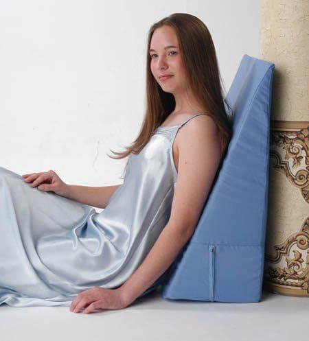 "AlexOrthopedic Durable Polyurethane Foam Bed Wedge 7"" White by Alex Orthopedic"