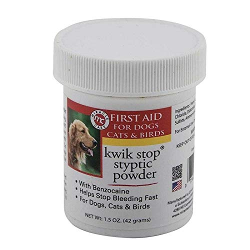 Miracle Care Kwik Stop Styptic Powder 1.5 oz by Miracle Care