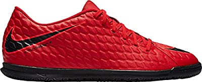 NIKE Men's Hypervenom Phade III Indoor Soccer Shoes - (University Red/Black)