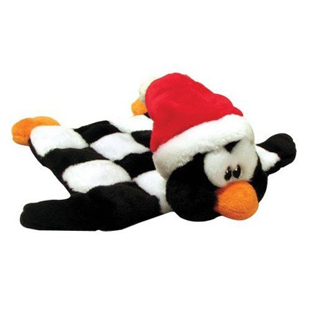 Kyjen Holiday Squeaker Mat, Large, Penguin, My Pet Supplies