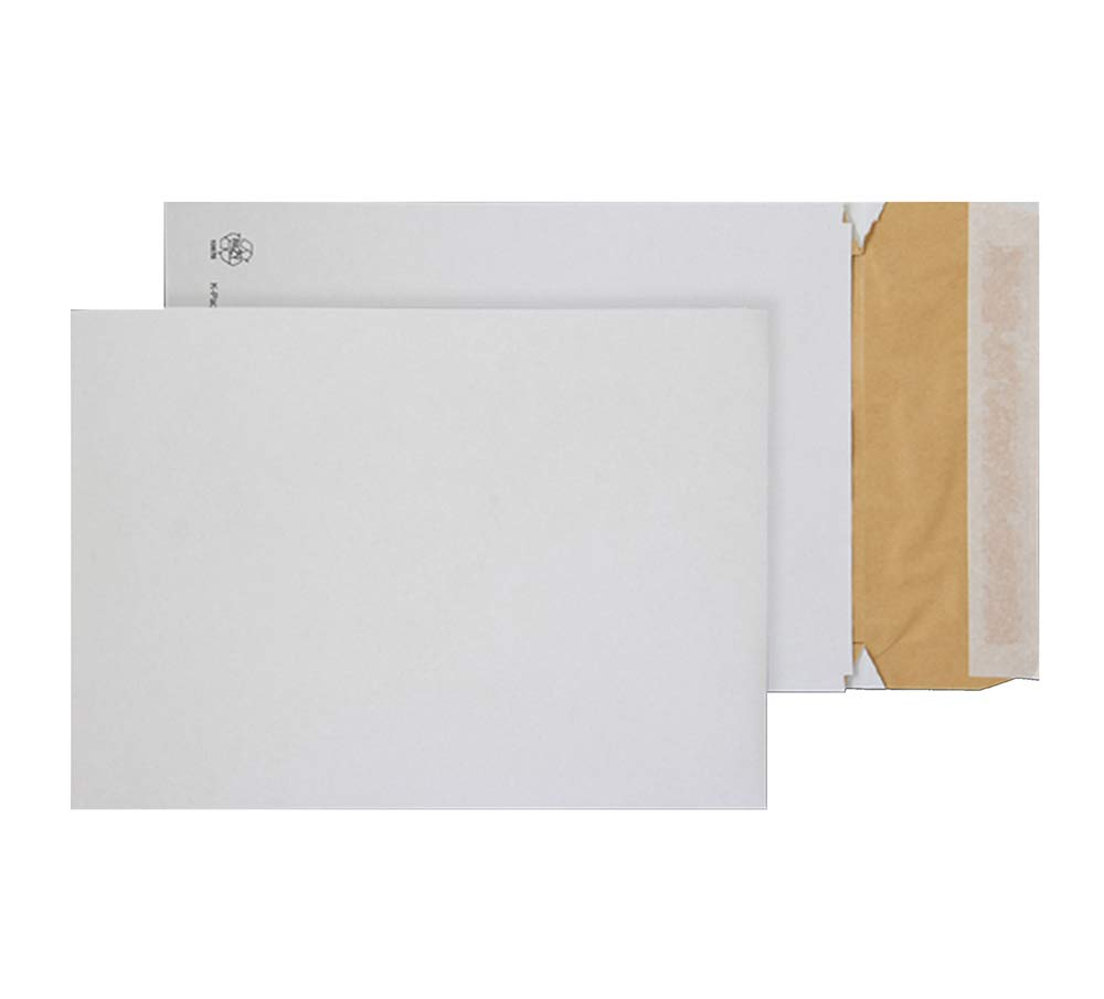 EPC4 White Pack of 100 Blake Purely Packaging C4 324 x 229 x 50 mm 140 gsm EcoCushion Padded Gusset Envelopes Peel /& Seal Plastic Free