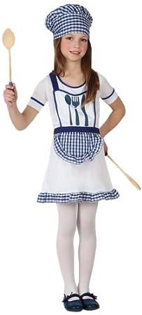 Atosa - Disfraz de cocinera para niña, talla 3-4 años (16000 ...
