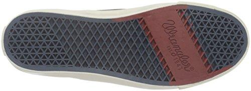 Wrangler Icon Mid Board - Zapatillas Hombre Marrón - Braun (30 Dk. Brown)