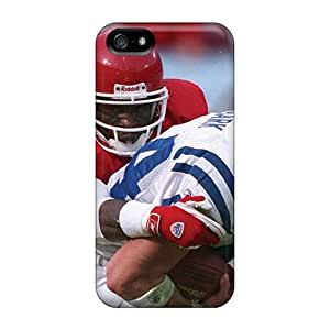 For Iphone 5/5s Tpu Phone Case Cover(kansas City Chiefs)