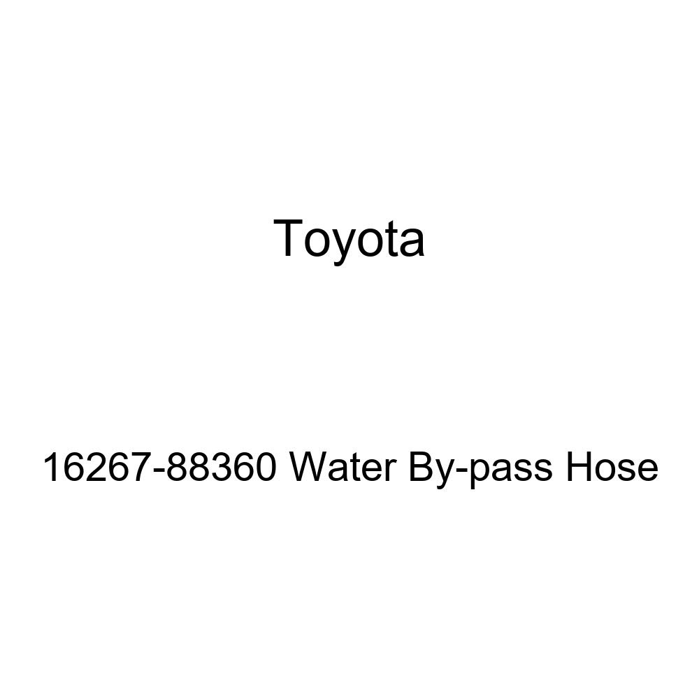 Genuine Toyota 16267-88360 Water By-pass Hose