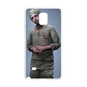The Evil Within Samsung Galaxy Note 4 Cell Phone Case White 53Go-150978