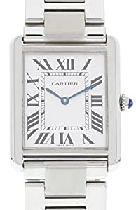 Cartier Tank Solo quartz mens Watch 3169 (Certified Pre-owned)