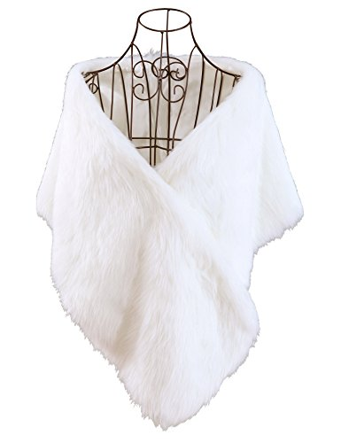 Buy ivory cape dress - 4
