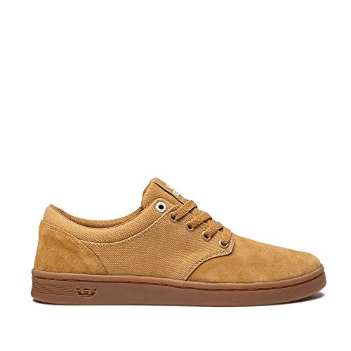 - Supra Men's Chino Court Tan/Gum 11 D US