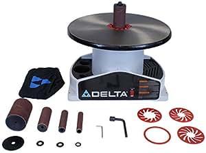 DELTA SA350K Shopmaster Boss 1/4-Horsepower 1,724 RPM Bench top Spindle Sander with Complete Spindle Sander Set