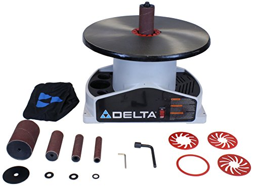 DELTA SA350K Shopmaster Boss 1/4-Horsepower 1,724 RPM Bench top Spindle Sander with Complete Spindle Sander (Boss Bench)