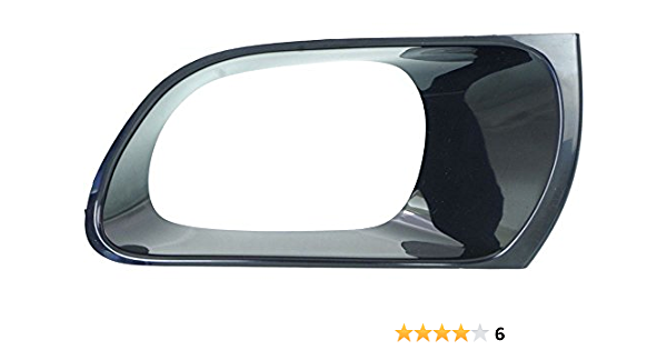 I-Match Auto Parts Left Driver Side Fog Lamp Hole Cover Bezel Replacement For 2009-2012 Toyota RAV4 Limited Edition 521280R030 TO1038128