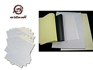 PFT 100 Pcs Tattoo Thermal Stencil Transfer Paper 8.5