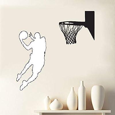 Zaosan Tatuajes de Pared Grand Slam Baloncesto Pintura de Pared ...