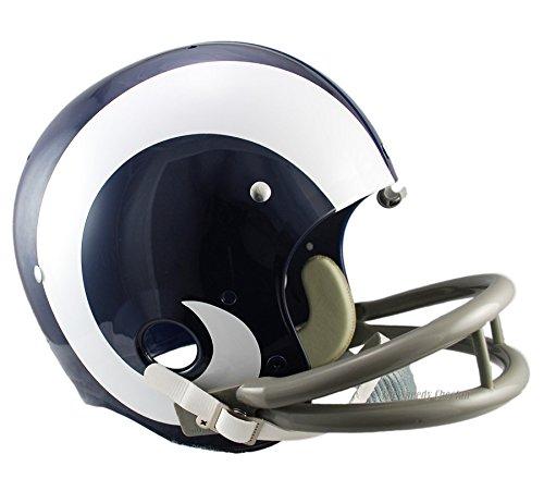 Los Angeles Rams 65-72 Officially Licensed TK Throwback Football Helmet by Riddell