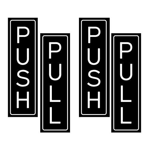 Run Dont Walk Tight (Push Pull Sticker Sign Set - Includes 2 Push Stickers and 2 Pull Stickers)