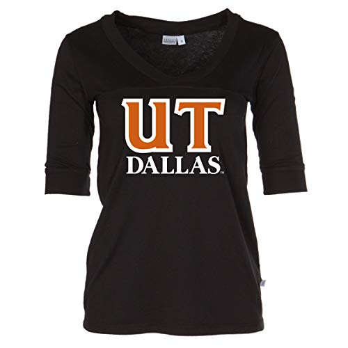 Official NCAA University of Texas at Dallas - Women's 3/4 Sleeve Football Jersey]()
