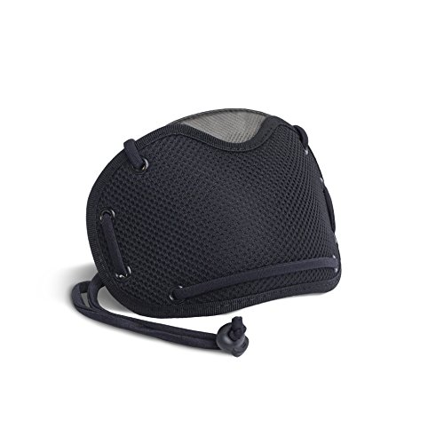 BANALE MKC106 Masque Anti Pollution Mixte Adulte, Noir Noir