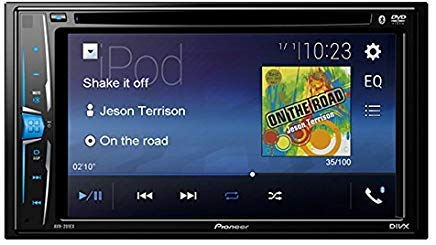 Pioneer AVH-201EX 6.2' Multimedia DVD Receiver with Bluetooth