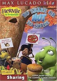 Hermie Friends Share Nut