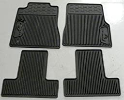 Oem Factory Stock 2006 2007 2008 2009 06 07 08 09 Mustang Pony Vinyl Weather Floor Mats Black