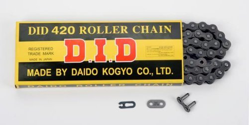 Daido 420 STD Standard Series Non O-Ring Chain - 130 Links , Chain Type: 420, Chain Length: 130, Color: Natural, Chain Application: All