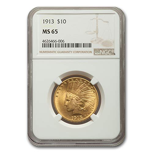 1913 $10 Indian Gold Eagle MS-65 NGC G$10 MS-65 NGC