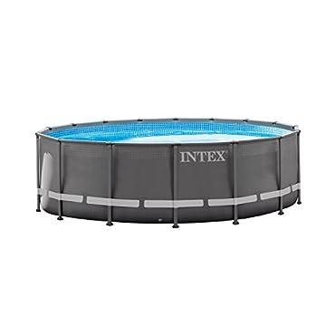 Intex 16' x 48 Ultra Frame Swimming Pool Set & 1200 GPH Sand Filter Pump