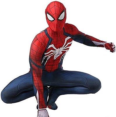 YIWANGO Adulto del Niños Disfraz De Spiderman Bola De Disfraces ...