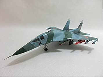 Amazon com: COMFIX 1/72 finished product Sukhoi Su-34 full-back